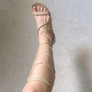 Gladiator sandals 🧡🧡
